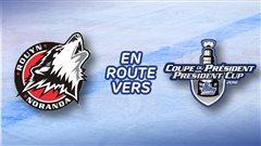 Les Huskies accèdent à la grande finale de la LHJMQ: début de la finale mercredi