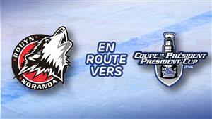 Les Huskies de Rouyn-Noranda en route vers la Coupe du président