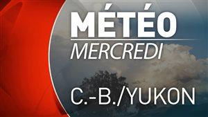Vignette météo mercredi C.-B. et Yukon
