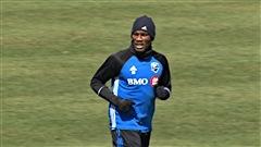 Drogba rejoint ses coéquipiers à l'entraînement... pour quelques minutes