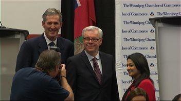 Les chefs NPD, PC et libéral du Manitoba s'affrontent dans leur dernier débat