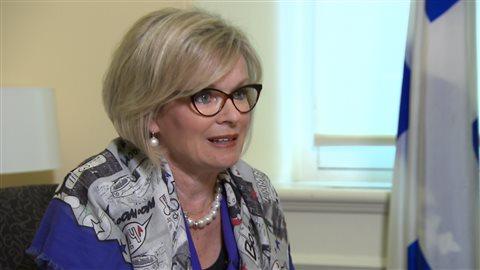 La ministre du Tourisme Julie Boulet.