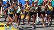 Départ des femmes au marathon de Boston