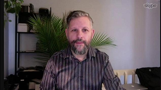 Stéphane Berthomet, spécialiste, affaires policières.
