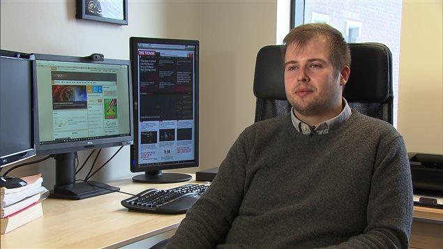 David Décary-Hétu, criminologue, Université de Montréal.