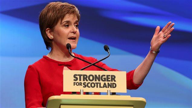 La première ministre écossaise, Nicola Sturgeon