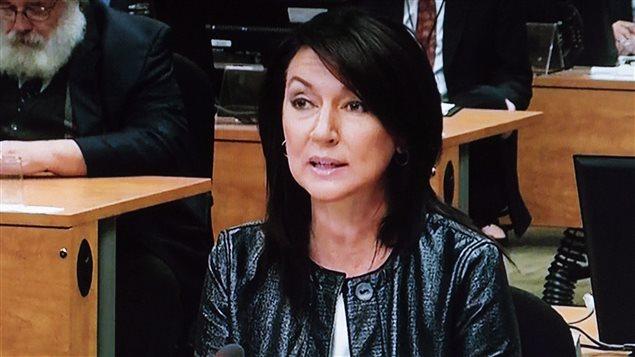 Nathalie Normandeau à la commission Charbonneau (archives)