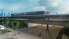 Saint-Laurent réclame le prolongement de la ligne orange du métro