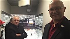 André Tourigny, nouvel entraîneur-chef des Mooseheads d'Halifax