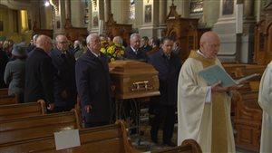 Funérailles de Marcel Dubé
