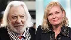 Donald Sutherland et Kirsten Dunst jurés au Festival de Cannes