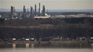 la raffinerie Jean-Gaulin