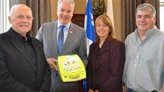 Sherbrooke:trouvez le défibrillateur le plus près de vous grâce à votre mobile