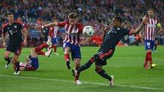 L'Atlético mène 1-0 contre le Bayern en Ligue des champions