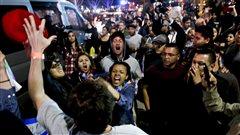 Une vingtaine de personnes arrêtées lors d'un rassemblement de Trump