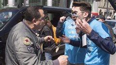 L'avenir d'Uber débattu dans les rues de Montréal