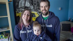 Émilie Lessard et sa famille