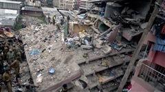 Sept morts dans l'effondrement d'un édifice à Nairobi