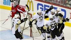 Les Penguins victorieux grâce à un but tardif