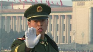 Un représentant de l'ordre chinois