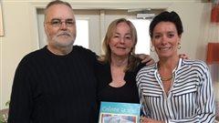 Drummondville : une résidente crée un cahier à colorier en mémoire de sa mère