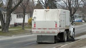 Nettoyage dans les rues de Winnipeg