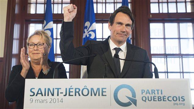 Pierre Karl Péladeau annonce sa candidature pour le PQ dans Saint-Jérôme