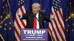Les médias donnent Trump gagnant en Indiana, les démocrates au coude-à-coude