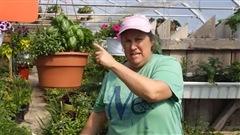 Marthe Laverdière, ou l'horticulture avec une touche d'humour