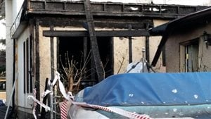 Maison de la rue Waterloo endommagée par un incendie
