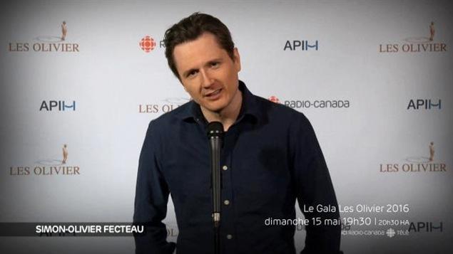 S'il gagne un Olivier, Simon-Olivier Fecteau ne remerciera pas Martin Matte...