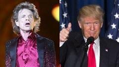 Les Rolling Stones exigent que Donald Trump cesse de diffuser leur musique