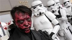 Les fans de <em>Star Wars</em> célèbrent le «May The Fourth Be With You»