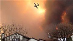 Un pompier de Sherbrooke combat l'incendie de Fort McMurray