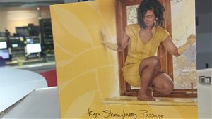 La pochette de l'album « Passage » de Kyra Shaughnessy