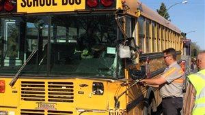 Deux autobus sont entrés en collision à Regina le 3 mai
