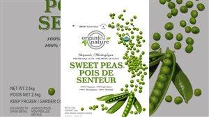 Par crainte de contamination par la listériose, Costco élargit son rappel des légumes congelés de marque Organic by Nature en ajoutant le produit Pois de senteur vendue dans les quatre provinces de l'Ouest.