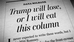 Il a promis qu'il mangerait sa chronique si Trump remportait l'investiture