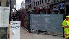 Projet Montréal plaint les touristes qui s'aventurent dans le Vieux-Montréal
