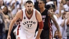 Les Raptors nivellent la série contre le Heat