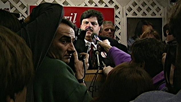 Mauril Bélanger est élu pour la première fois comme député fédéral en 1995.