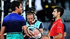 Raonic échoue encore face à Djokovic