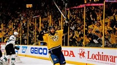 Mike Fisher et les Predators tranchent en prolongation