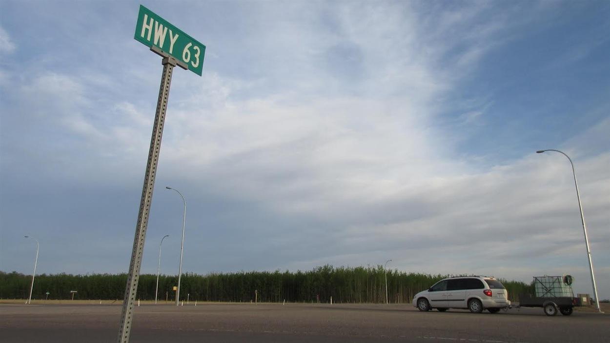 L'autoroute 63