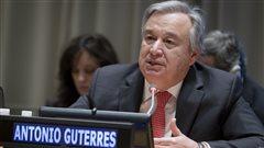 Antonio Guterres en tête pour accéder au poste de secrétaire général de l'ONU