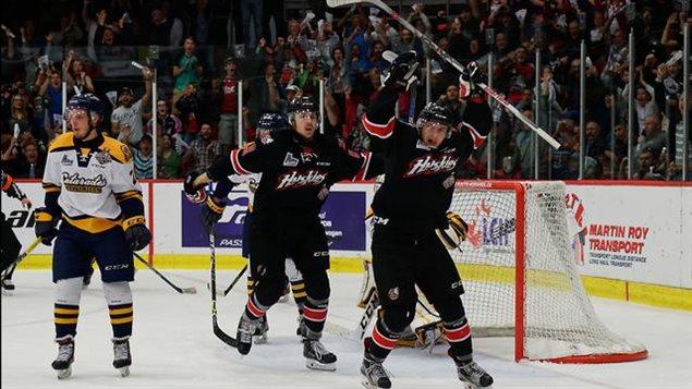 Les Huskies de Rouyn-Noranda sont champions de la LHJMQ