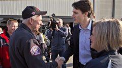 Fort McMurray :Justin Trudeau remercie les Canadiens pour leur aide