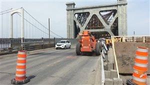 Le pont de Québec fermé pour la fin de semaine