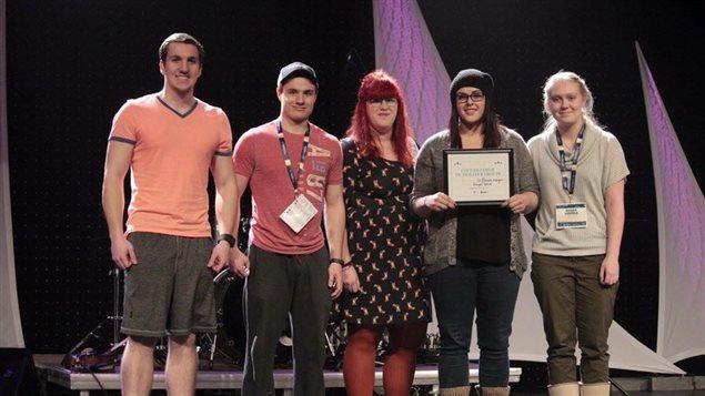 Le groupe La Dérivée de Smooth Rock Falls lauréat de La Brunante - ICI.Radio-Canada.ca