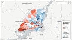 Les disparités entre riches et pauvres se concrétisent de plus en plus à Montréal